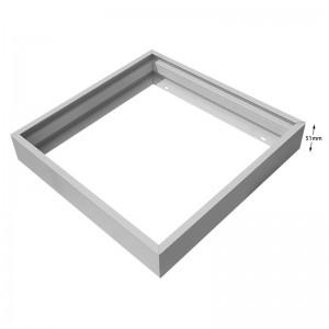 620×620 Screwless frame for led panel