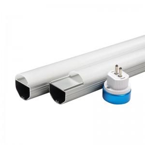 T6 tube light diffuser housing