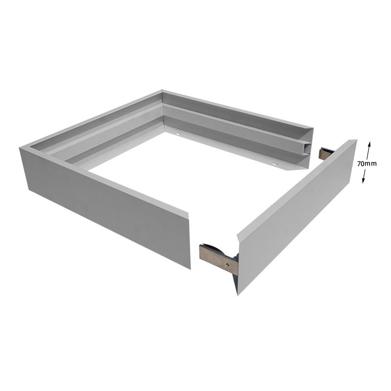 Screwless frame for 600×600 led backlit panel Featured Image