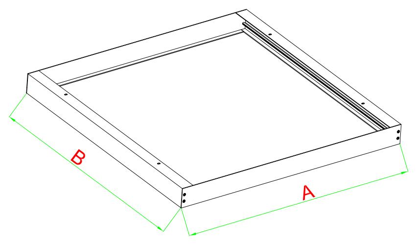 Panel frame