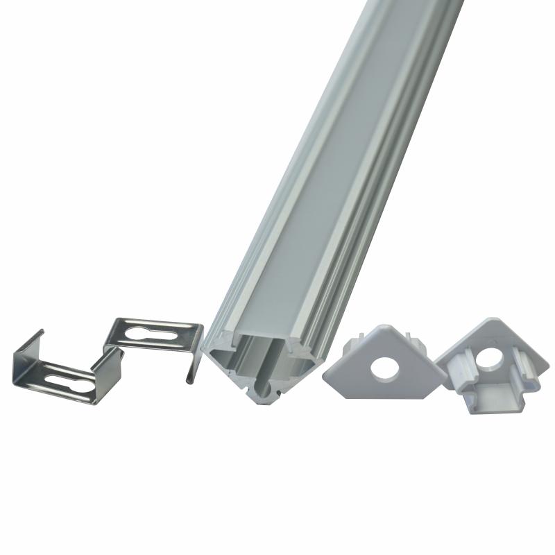 Cheap PriceList for Led Light Parts - Led Aluminum Profile-LEZ-738 – Lianzhen