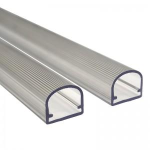 Plastic pipe extrusion profile
