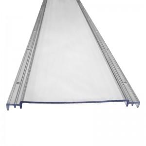 Tri-proof light transparent diffuser cover