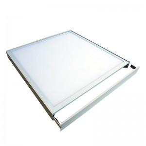 Screwless frame for 600×600 led backlit panel