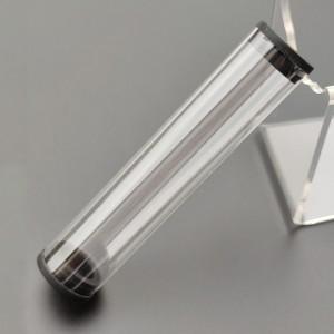 Transparent Plastic Packaging Tube