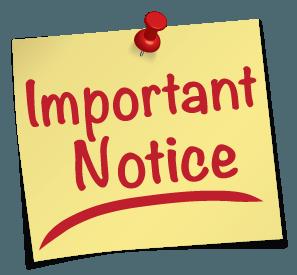 Work Adjustment Notice